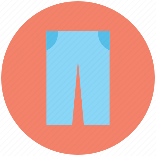 bermuda shorts, pants, summer wear, trousers icon