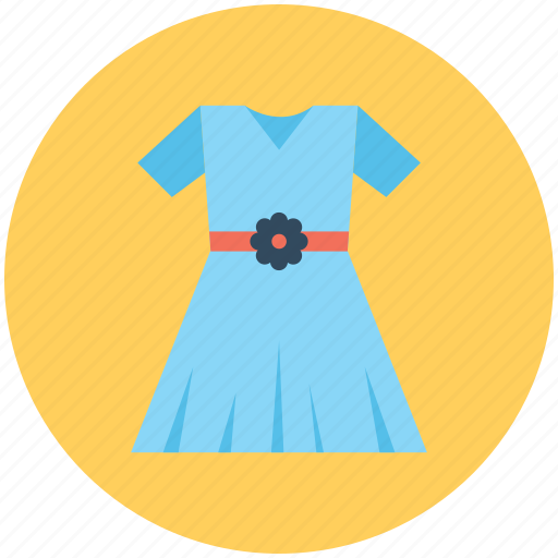 clothes, frock, smock dress, sundress, woman dress icon