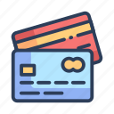 card, credit, debit, payment, shopping icon