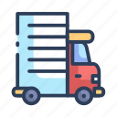 delivery, service, shipping, shopping icon
