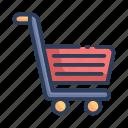 cart, shop, shopping, trolley icon