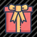 ecommerce, shop, gift, present, box, shopping icon