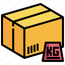 box, delivery, pack, quantity, weight