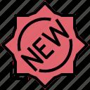 first, fresh, label, modern, new