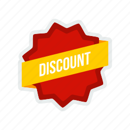 discount, label, offer, online, sale, shopping, tag icon