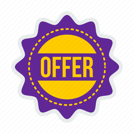 coupon, offer, sale, shop, shopping, sticker, tag icon