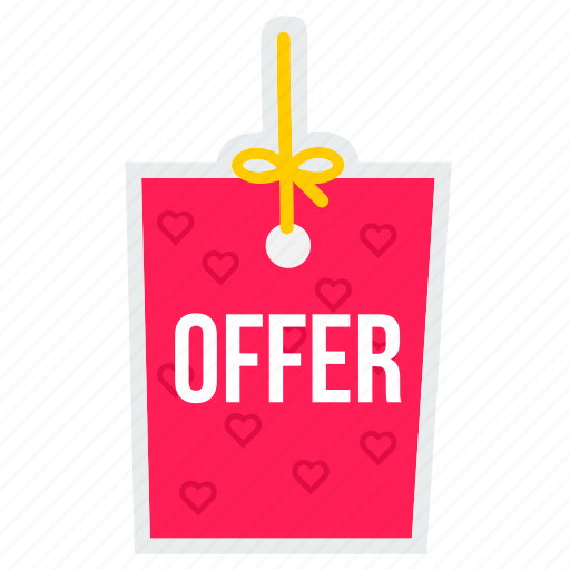 commerce, e, offer, online, shopping, site, valentine icon
