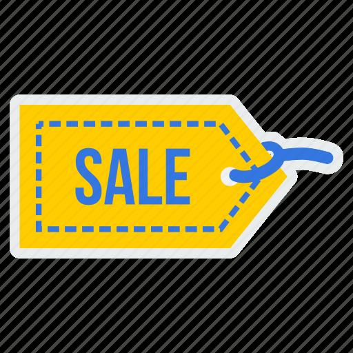 coupon, label, ribbon, sale, shop, shopping, tag icon