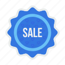 label, offer, ribbon, sale, shop, shopping, sticker icon
