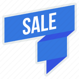 coupon, offer, ribbon, sale, shop, shopping icon