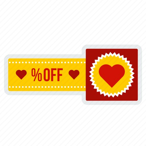 day, discount, heart, off, offer, valentine, valentines icon