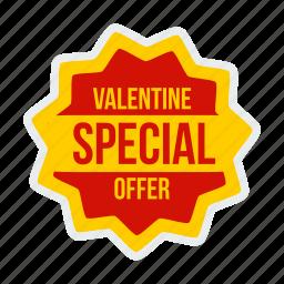 day, discount, label, offer, special, valentine, valentines icon