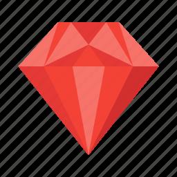 brilliant, diamond, gem, jewel, jewelry, ring, treasure icon