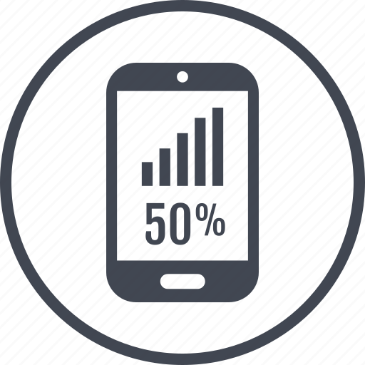 phone, rate icon