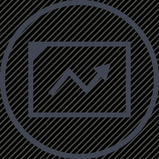 analytics, point, seo, web icon