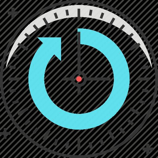 clock, hours, time, twenty four hours, working icon