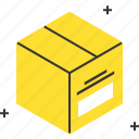 box, deliver, delivery, design, pack, packaging, parcel icon