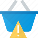 action, attention, basket, buy, shop, shopping icon