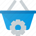 action, basket, buy, settings, shop, shopping icon