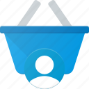 action, basket, buy, shop, shopping, user icon