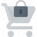 action, buy, cart, lock, secure, shop, store
