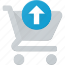 action, buy, cart, output, shop, store icon