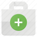 action, add, bag, buy, paper, shopping icon