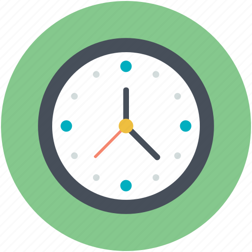Clock, timepiece, timer, wall clock, watch icon - Download on Iconfinder