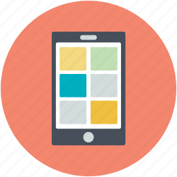 app design, layout, mobile, mobile layout, template icon