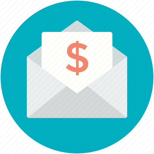 email financial envelope letter letter envelop message icon