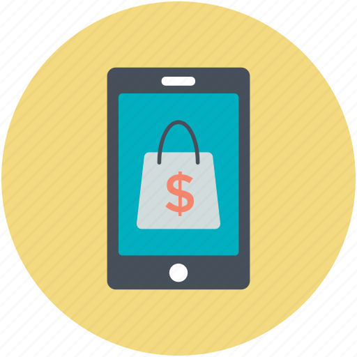 mobile shopping, online shop, shop, shopping, store icon
