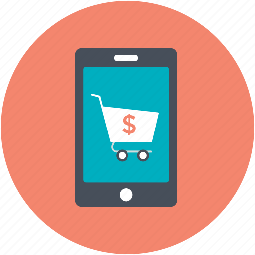 Mobile shopping, online shop, shop, shopping, store icon - Download on Iconfinder
