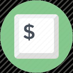 button, dollar, dollar button, finance, financial enter icon