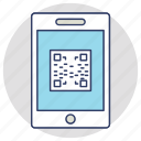 matrix code, mobile qr code, price code, qr code, qr scanner icon