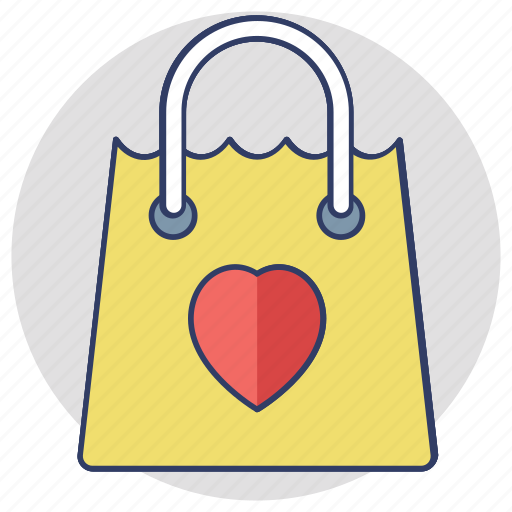 paper bag, reusable bag, shopping bag, supermarket bag, tote bag icon