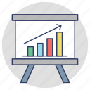 barchart analysis, business analytics, growth chart, increase graph, statistical analysis icon