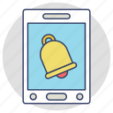 alarm, mobile notification, mobile ui, notification, push notification icon