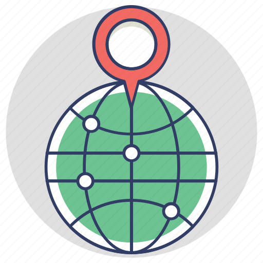 geo target, global location positioning, gps, map locator, navigation icon
