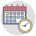 agenda, appointment, time management, time planning, timetable icon