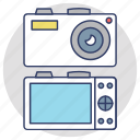 cam technology, digital camera, photo camera, photographic equipment, photography icon