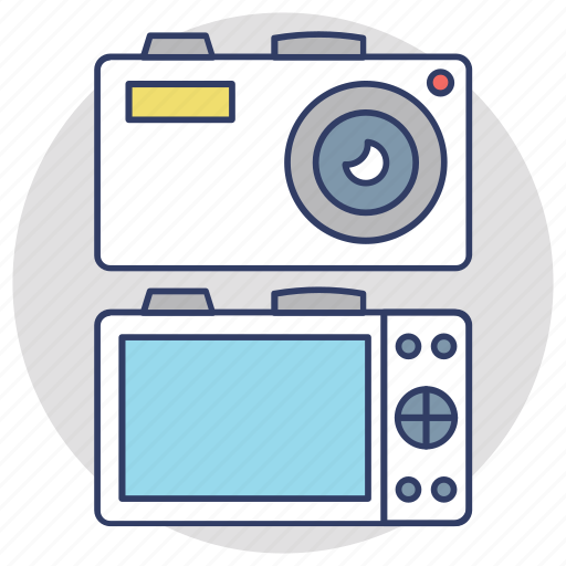 cam technology, digital camera, photo camera, photographic equipment, photography icon