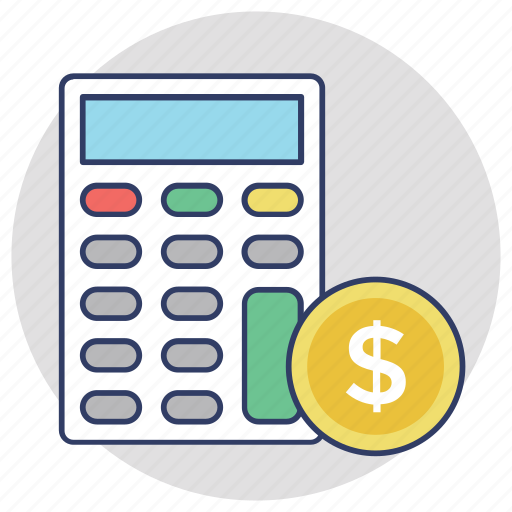 accounting, bookkeeping, budget, budget planning, calculator icon