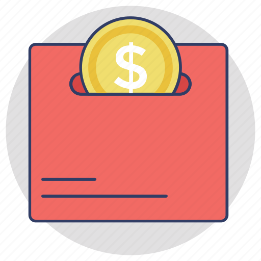 cash, dollar coin, money, save money, savings icon