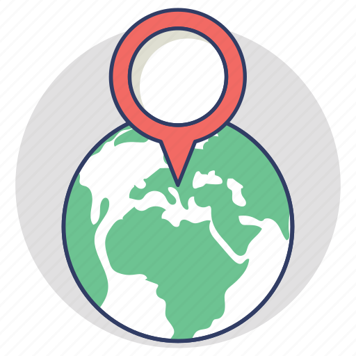 geo target, global location positioning, gps, map locator, navigation icon