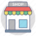 market, marketplace, shop, shopping point, store icon