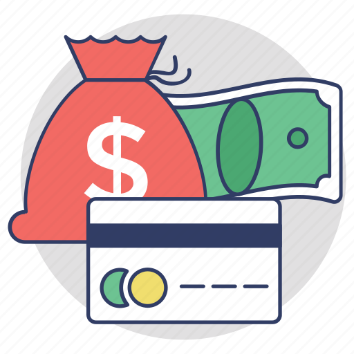 alternative payments, credit card, finance, money bag, payment methods icon