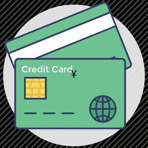 atm card, credit card, debit card, internet banking, plastic money icon