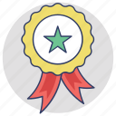 award, badge, prize, quality, reward icon