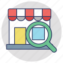 find shop, find the store, search store, store locator, stores near me icon