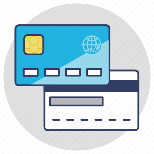 atm card, bank card, credit card, plastic money, smart banking icon